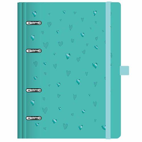 Caderno-Organizador-Basic-Planner-Maxi-Verde-Otima
