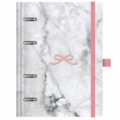 Caderno-Organizador-Pink-Stone-Planner-Maxi-Marmore-Otima