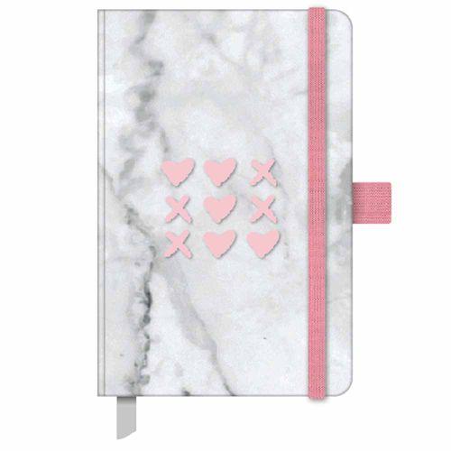Caderno-Pink-Stone-Papertalk-Mini-Marmore-Otima