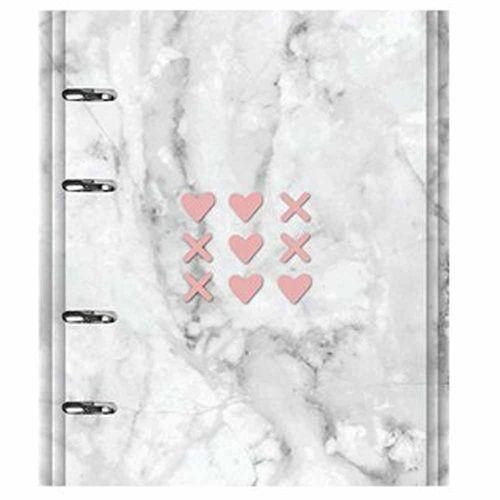 Caderno-Pink-Stone-FC-177-Marmore-Otima