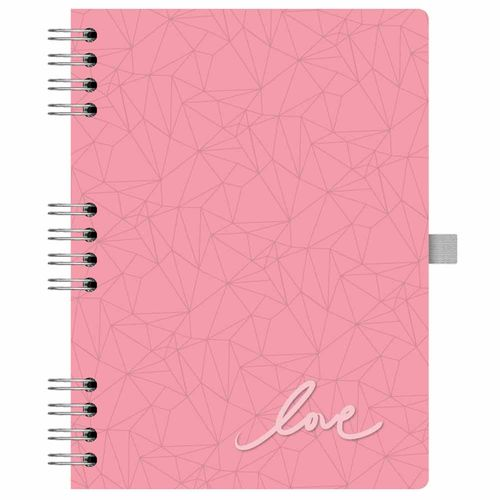 Caderno-Pink-Stone-177-Geometrico-Otima