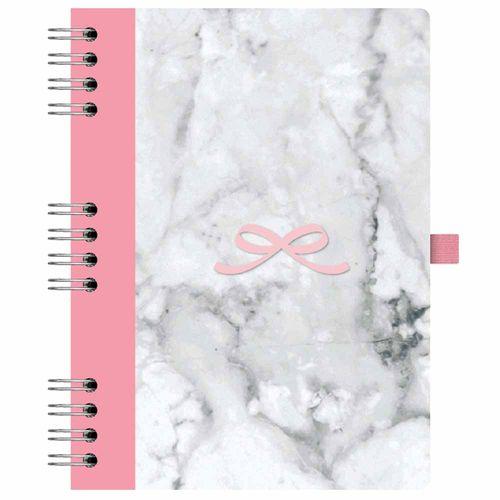 Caderno-Pink-Stone-177-Marmore-Otima