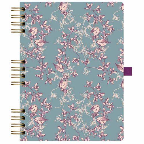 Caderno-Floral-177-Azul-Otima