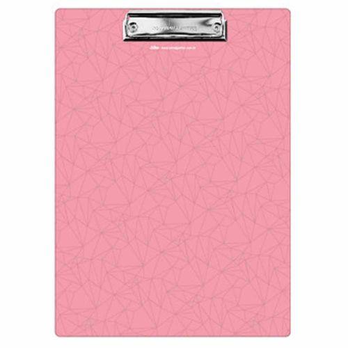 Prancheta-Pink-Stone-A4-Geometrica-Otima