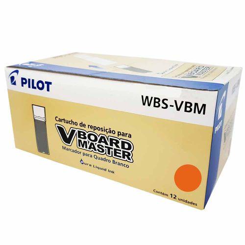 Refil-para-Marcador-Board-Master-Laranja-Pilot-12-Unidades