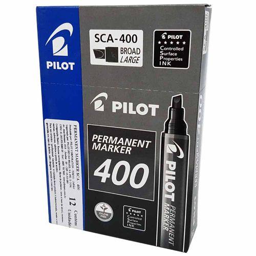 Marcador-Permanente-400-Preto-Pilot-12-Unidades