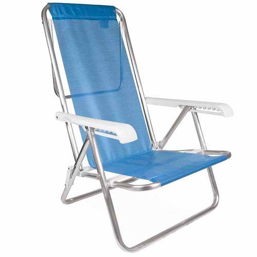 Cadeira-de-Praia-Aluminio-Reclinavel-Mor-Azul