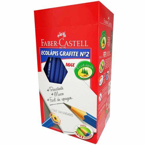 Lapis-Preto-Faber-Castell-MAX-Nº2-Azul-144-Unidades
