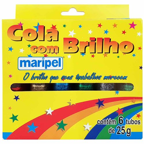 Cola-Colorida-com-Brilho-6-Cores-Maripel