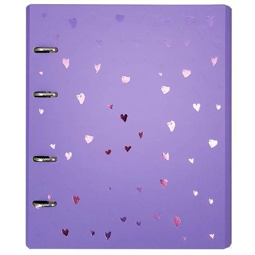 Caderno-Romantic-FC-177-Lilas-Otima