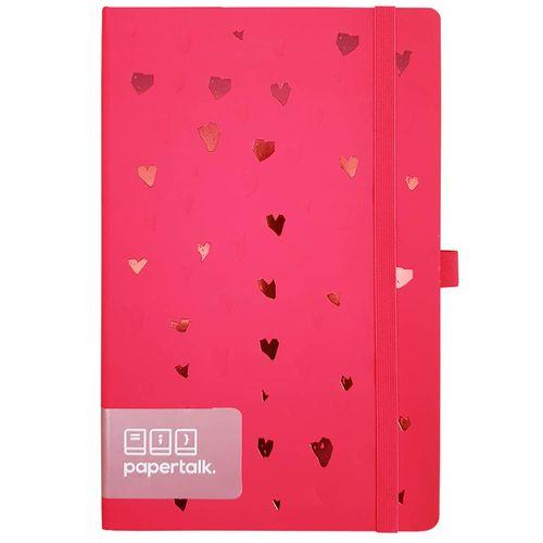 Caderno-Romantic-Papertalk-Maxi-Rosa-Otima