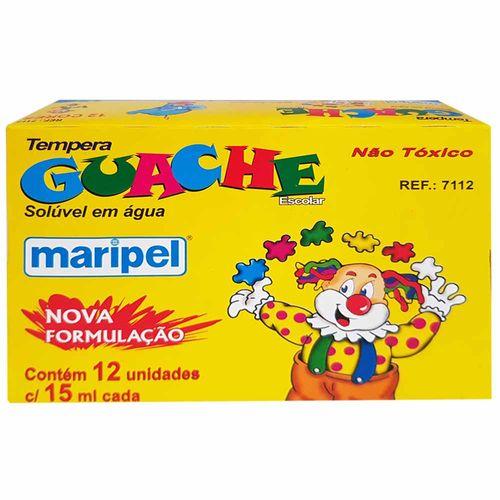 Tempera-Guache-12-Cores-Maripel