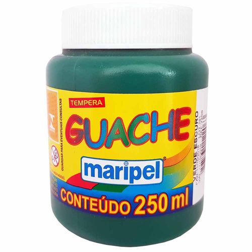 Tempera-Guache-250ml-Verde-Escuro-Maripel