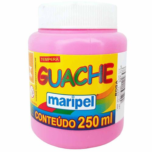 Tempera-Guache-250ml-Rosa-Maripel