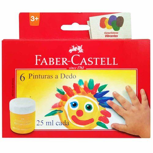 Pintura-a-Dedo-6-Cores-Faber-Castell