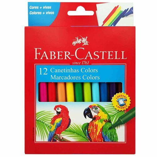 Canetinha-Hidrografica-12-Cores-Faber-Castell