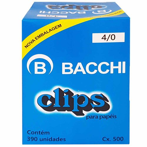 Clips-para-Papel-40-Bacchi-390-Unidades