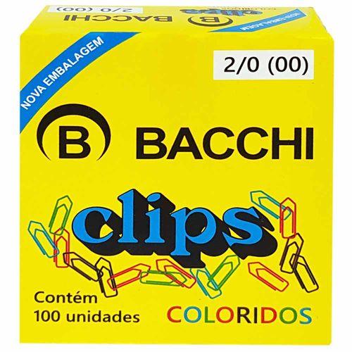 Clips-para-Papel-20-Colorido-Bacchi-100-Unidades