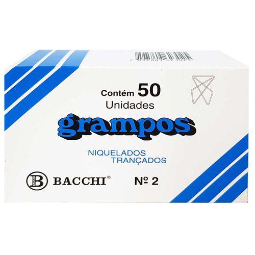 Grampo-Trancado-Nº2-Niquelado-Bacchi-50-Unidades