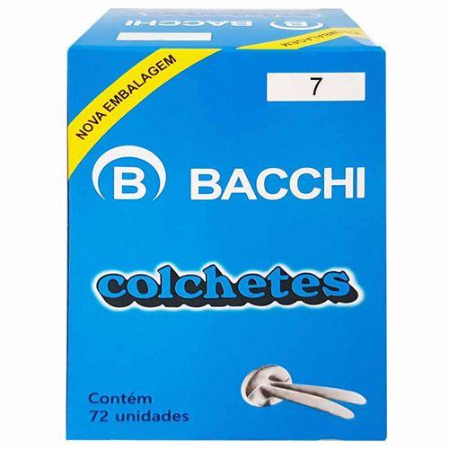 Colchete-Nº7-Bacchi-72-Unidades