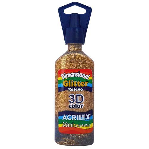 Tinta-Dimensional-3D-Glitter-35ml-201-Ouro-Acrilex