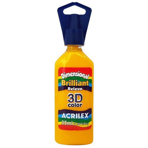 Tinta-Dimensional-3D-Brilliant-35ml-505-Amarelo-Ouro-Acrilex