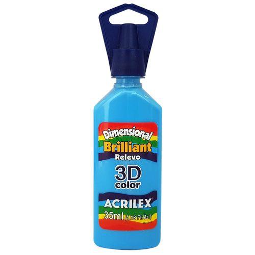 Tinta-Dimensional-3D-Brilliant-35ml-503-Azul-Celeste-Acrilex