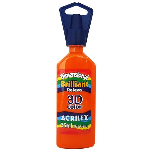 Tinta-Dimensional-3D-Brilliant-35ml-517-Laranja-Acrilex