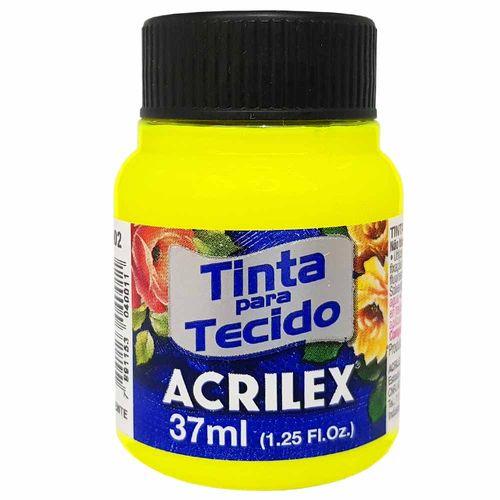 Tinta-para-Tecido-37ml-102-Amarelo-Limao-Acrilex