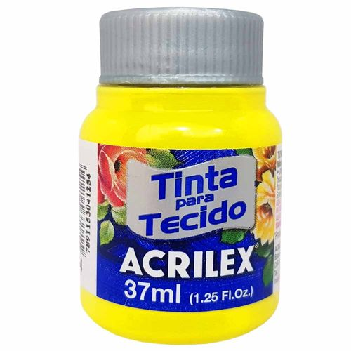 Tinta-para-Tecido-37ml-504-Amarelo-Limao-Acrilex