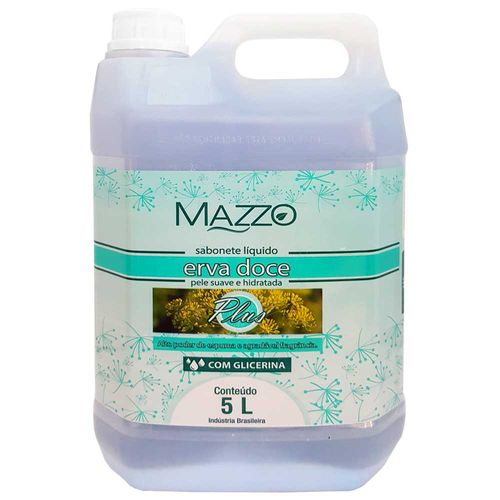 Sabonete-Liquido-Erva-Doce-com-Glicerina-5-Litros-Mazzo