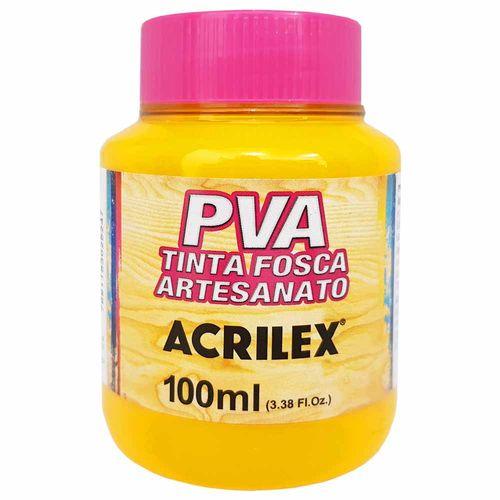 Tinta-PVA-Fosca-100ml-833-Amarelo-Gema-Acrilex