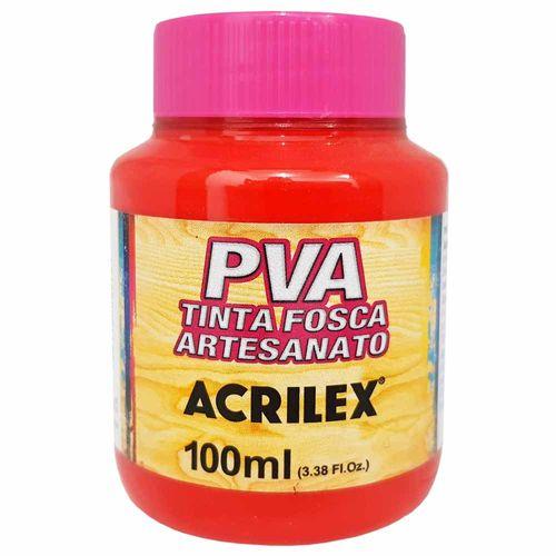 Tinta-PVA-Fosca-100ml-541-Vermelho-Vivo-Acrilex