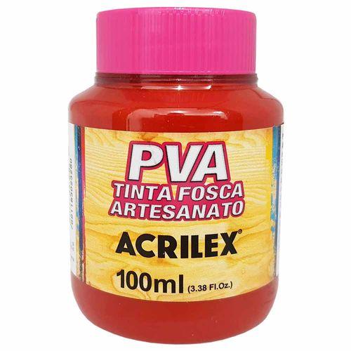 Tinta-PVA-Fosca-100ml-508-Vermelho-Escarlate-Acrilex