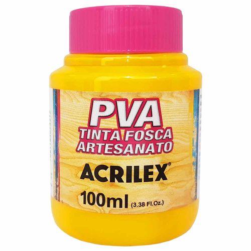 Tinta-PVA-Fosca-100ml-505-Amarelo-Ouro-Acrilex