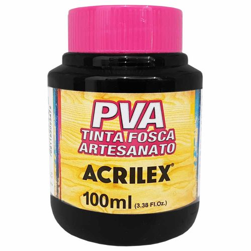 Tinta-PVA-Fosca-100ml-520-Preto-Acrilex