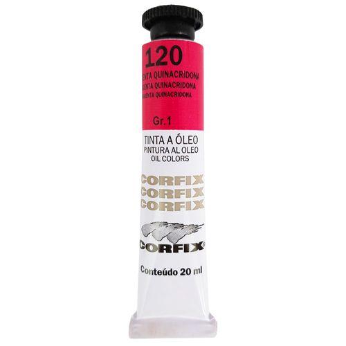 Tinta-Oleo-20ml-120-Magenta-Quinacridona-Corfix