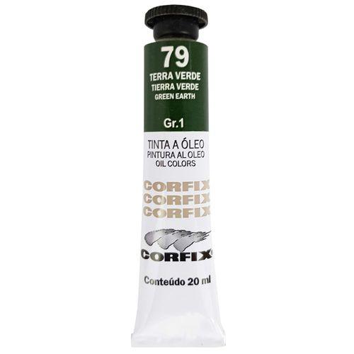 Tinta-Oleo-20ml-79-Terra-Verde-Corfix