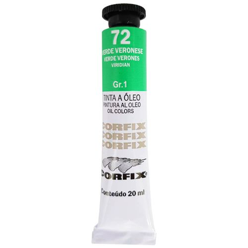 Tinta-Oleo-20ml-72-Verde-Veronese-Corfix