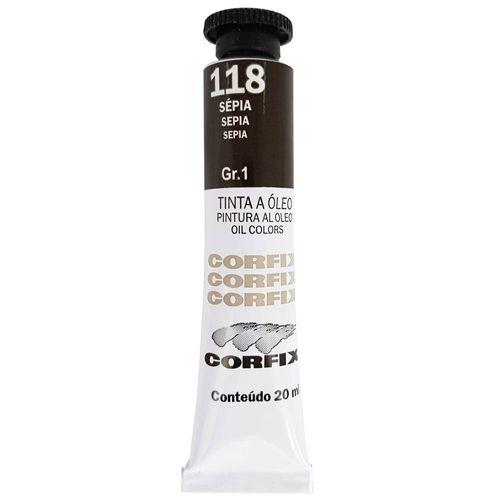 Tinta-Oleo-20ml-118-Sepia-Corfix