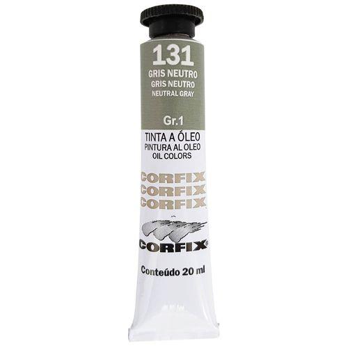 Tinta-Oleo-20ml-131-Gris-Neutro-Corfix