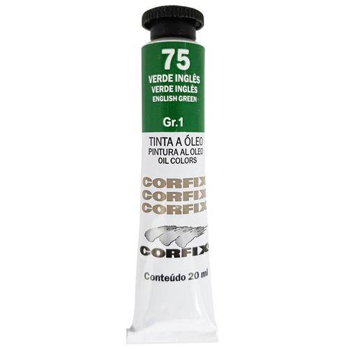 Tinta-Oleo-20ml-75-Verde-Ingles-Corfix