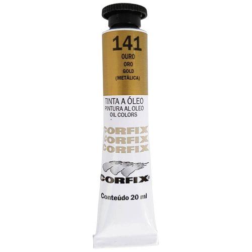 Tinta-Oleo-20ml-141-Ouro-Corfix
