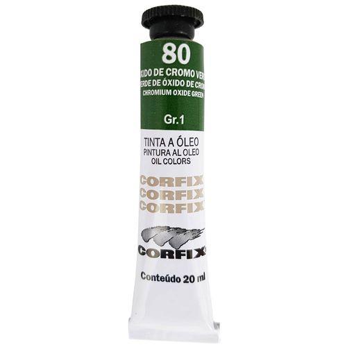 Tinta-Oleo-20ml-80-Oxido-De-Cromo-Verde-Corfix