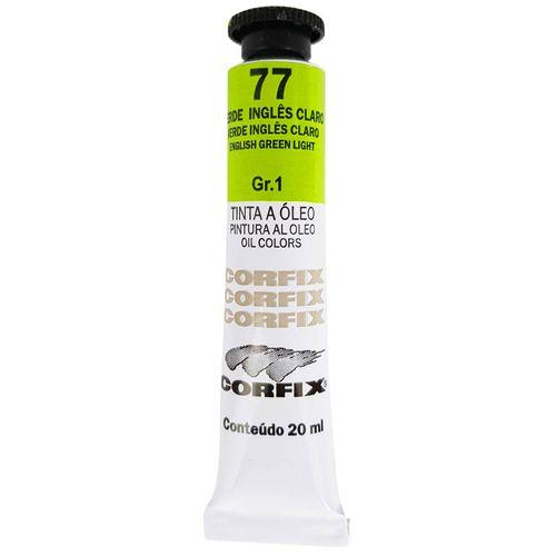 Tinta-Oleo-20ml-77-Verde-Ingles-Claro-Corfix