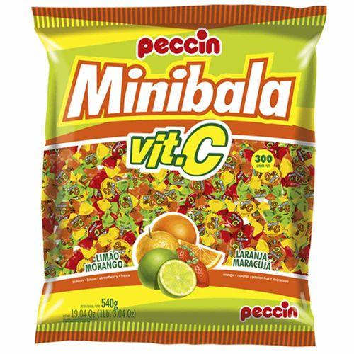 Bala-Minibala-Vit-C-Sortida-540g-Peccin