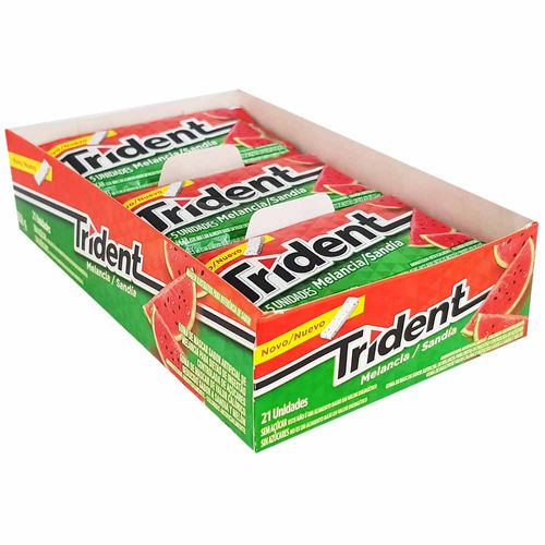 Chiclete-Trident-Melancia-Mondelez-21-Unidades