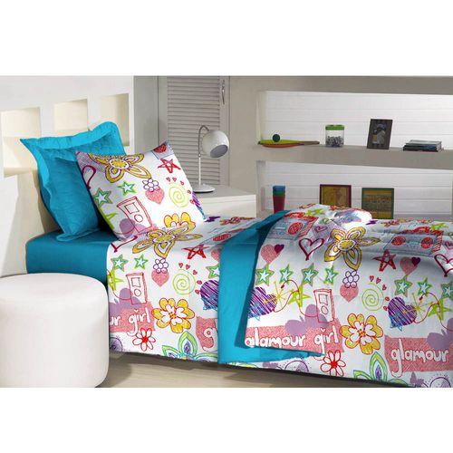 Jogo-de-Cama-Solteiro-180-Fios-Innovare-Glamour-Girl-Textil-Lar