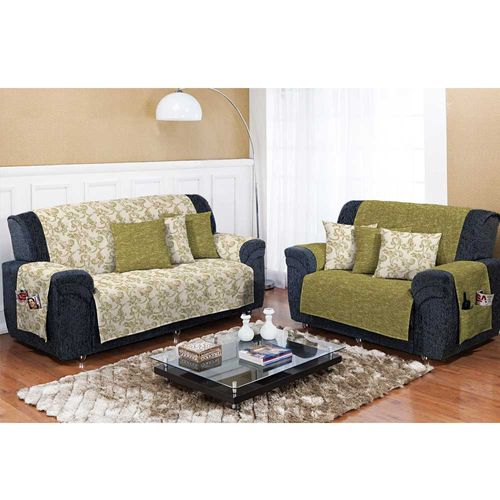 Capa-para-Sofa-Dupla-Face-Decore-Verde-Musgo-Textil-Lar