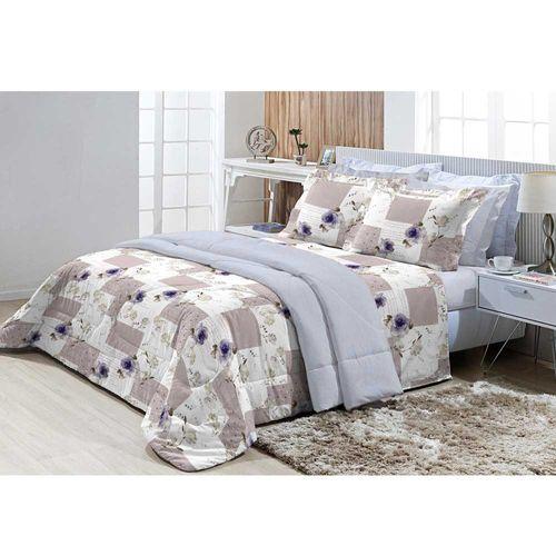 Jogo-de-Cama-Queen-200-Fios-Top-Confort-Provence-Azul-Textil-Lar